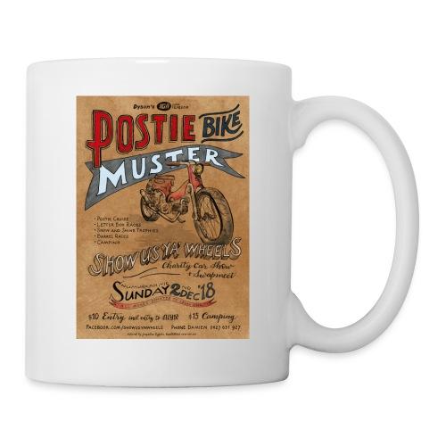 Postie Muster Show Us Ya Wheels 2018 - Coffee/Tea Mug