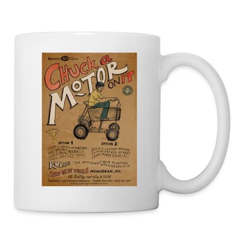 Chuck a Motor On It - Coffee/Tea Mug