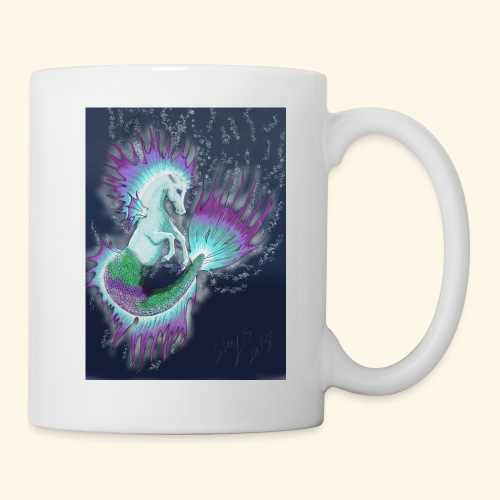 fantasy sea horse - Coffee/Tea Mug