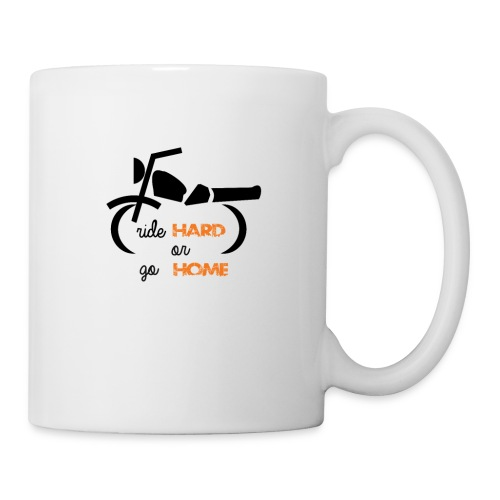 Biker Tshirt - Coffee/Tea Mug