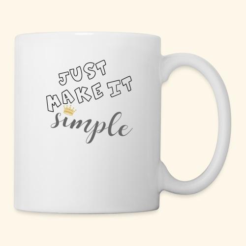 Just make it simple - Coffee/Tea Mug