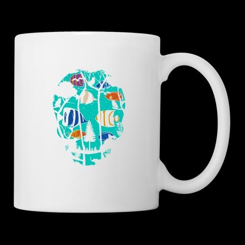 Underwater Skull - Coffee/Tea Mug