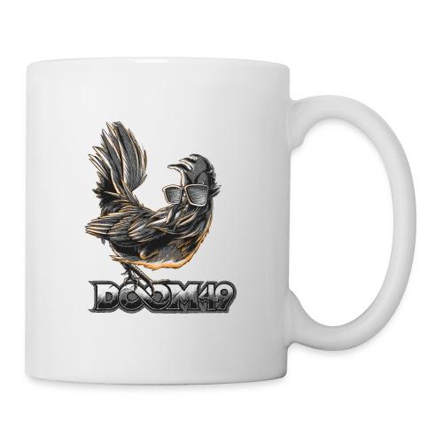 DooM49 Black and White Chicken - Coffee/Tea Mug