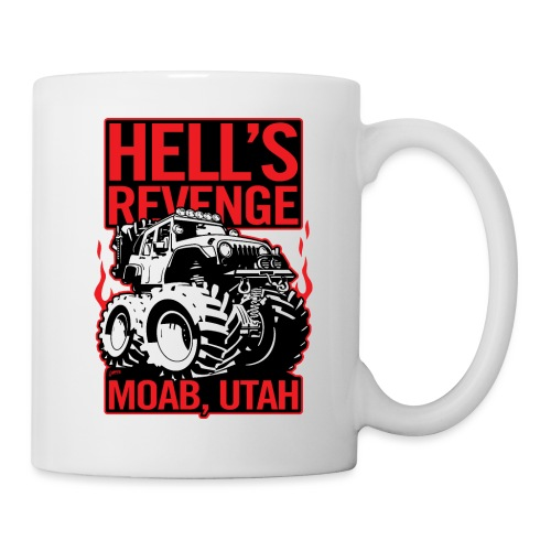 Hell's Revenge Moab Utah Off Road 4x4 Adventure - Coffee/Tea Mug