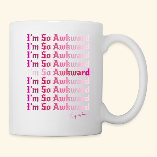 I'm So Awkward - Women's multi-logo - Coffee/Tea Mug