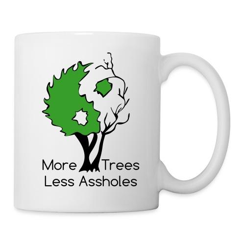 in tree col text - Coffee/Tea Mug