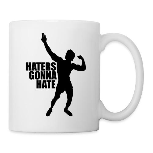 Zyzz Silhouette Haters Gonna Hate - Coffee/Tea Mug