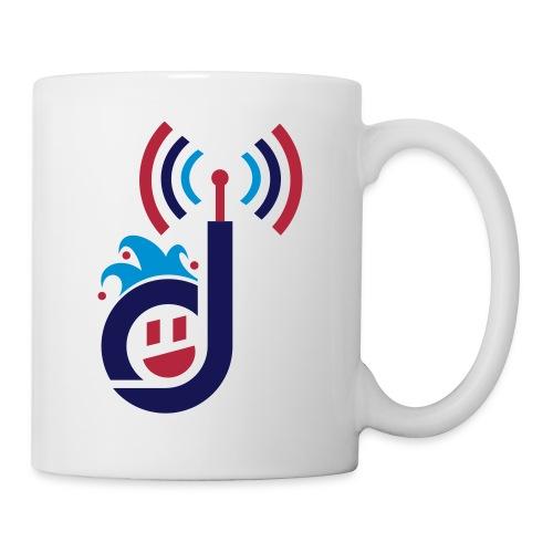 dementiaradiotshirt just d with face sm - Coffee/Tea Mug