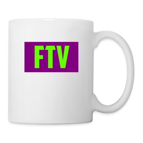 Green and Purple Mugs and MousePads - Coffee/Tea Mug