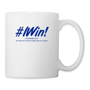 I win Blue - Coffee/Tea Mug