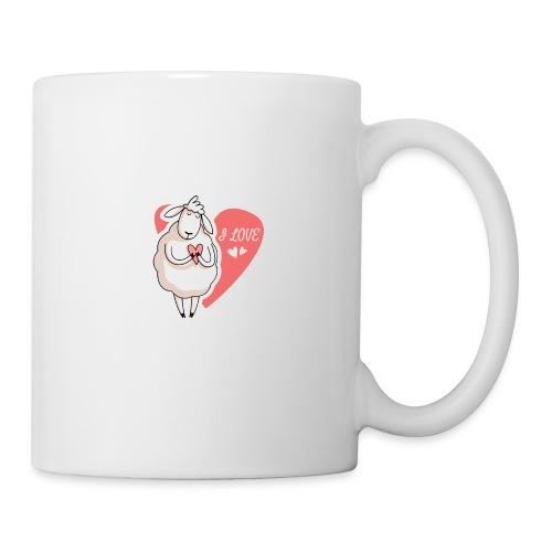 sheep love - Coffee/Tea Mug