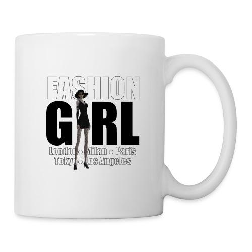 The Fashionable Woman - Fashion Girl - Coffee/Tea Mug