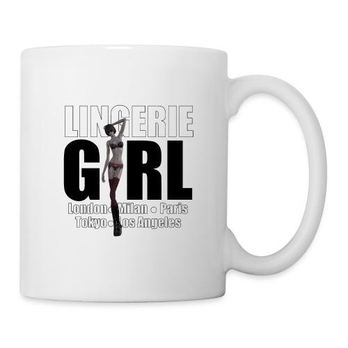 The Fashionable Woman - Lingerie Girl - Coffee/Tea Mug