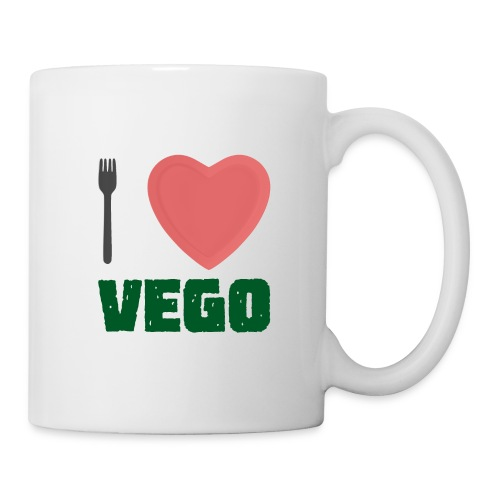 I love Vego - Clothes for vegetarians - Coffee/Tea Mug