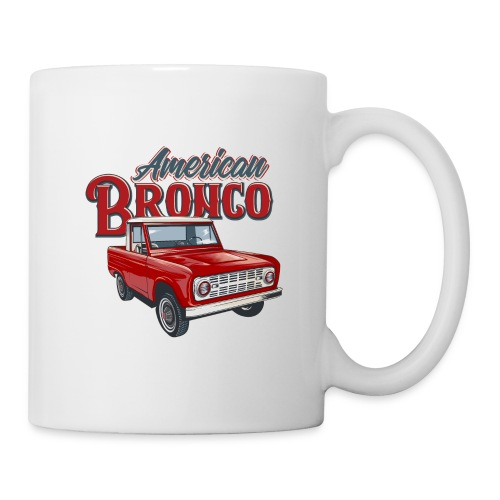 American Bronco Half Cab T-Shirt - Coffee/Tea Mug