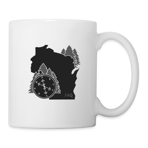 Black/White WI Logo - Coffee/Tea Mug