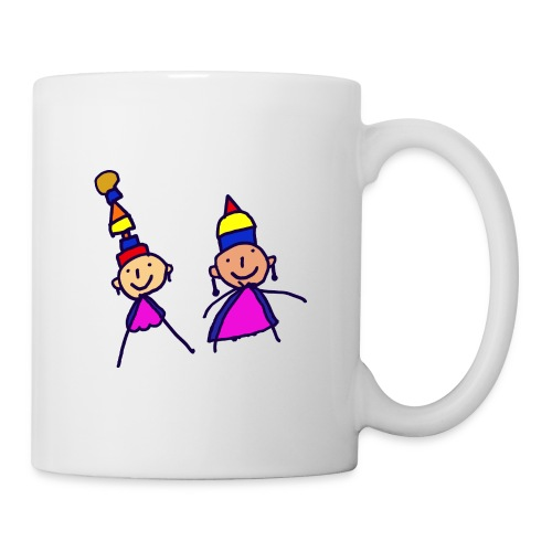 2 girls in hat - Coffee/Tea Mug