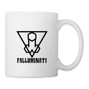 Falluminati on your phone by Umberto Lizard - Coffee/Tea Mug