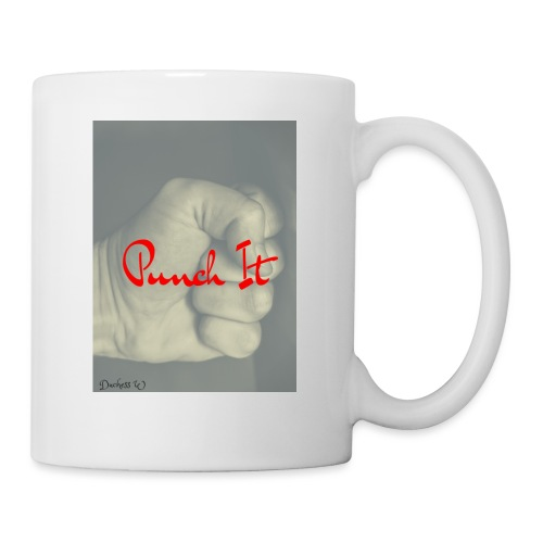 Punch it by Duchess W - Coffee/Tea Mug