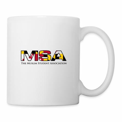 Maryland Flag MSA Logo - Coffee/Tea Mug