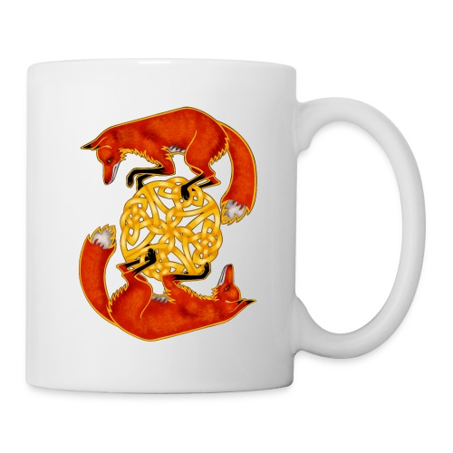 Circling Foxes - Coffee/Tea Mug