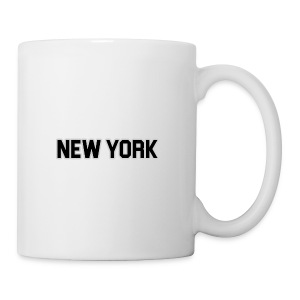 New York Yankee - Black - Coffee/Tea Mug