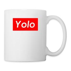 SupremeYolo Box Logo - Coffee/Tea Mug