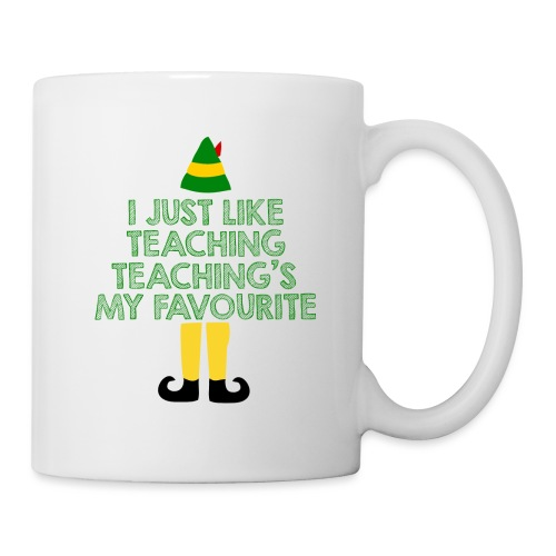 Teaching's My Favourite Christmas Teacher T-Shirt - Coffee/Tea Mug