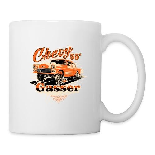 Head's Up '55 Chevy Gasser T-Shirt - Coffee/Tea Mug