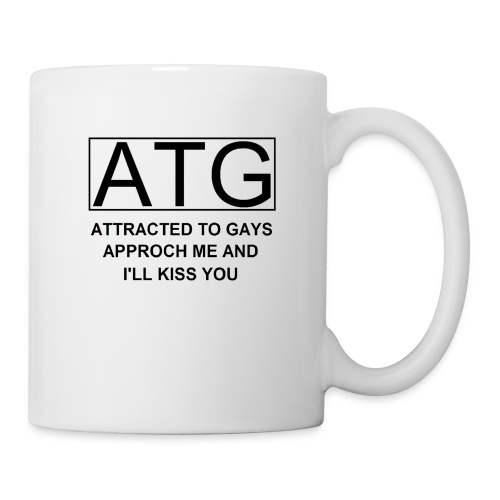 ATG Attracted to gays - Coffee/Tea Mug