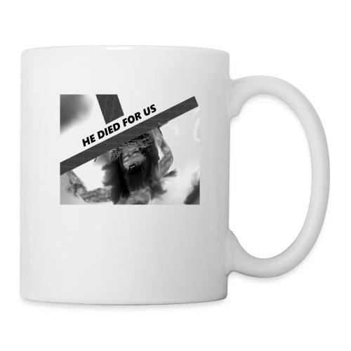 He died for us - Coffee/Tea Mug