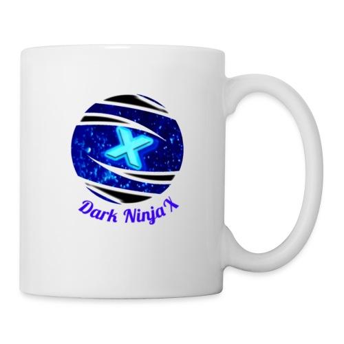 Large Dark NinjaX logo - Coffee/Tea Mug