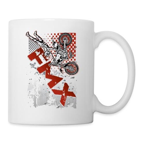 FMX Dirt Biker Red - Coffee/Tea Mug
