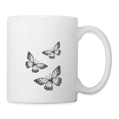 be_you_tiful_grey_white_text - Coffee/Tea Mug