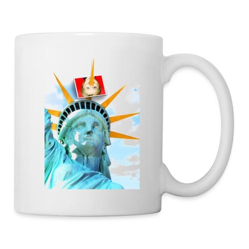 Lady Liberty Spikes Hillary - Coffee/Tea Mug