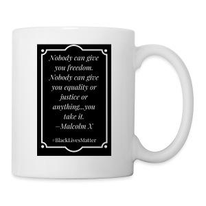 Black Lives Matter Malcolm X - Coffee/Tea Mug