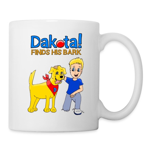 Dakota! Finds His Bark - Coffee/Tea Mug