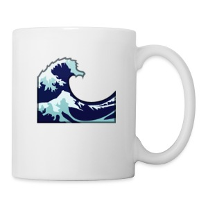Wave Tsunami Logo - Coffee/Tea Mug