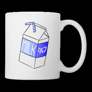 Boîte de lait - Tasse