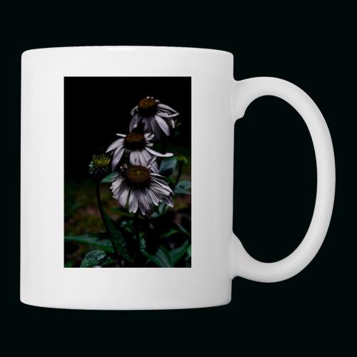 Flowers and Bee - Coffee/Tea Mug