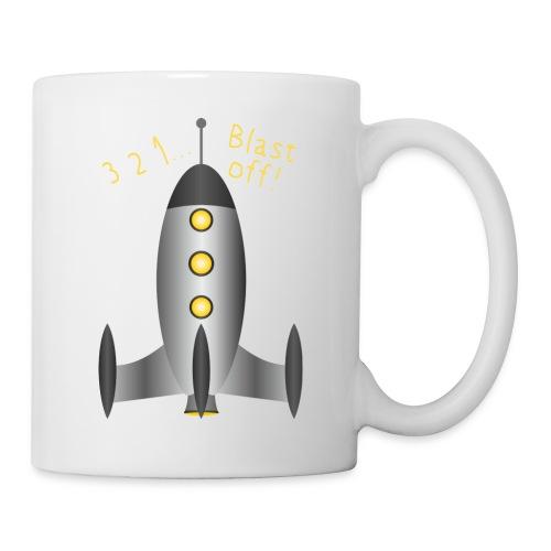 Rocket Blast Off - Coffee/Tea Mug