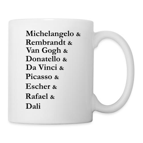Great Artists - Coffee/Tea Mug