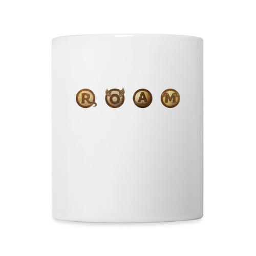 ROAM letters sepia - Coffee/Tea Mug