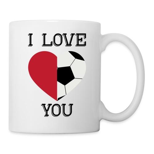i love you soccer - Coffee/Tea Mug
