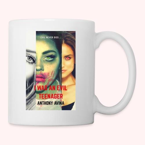 I Was An Evil Teenager Book Cover jpg - Coffee/Tea Mug