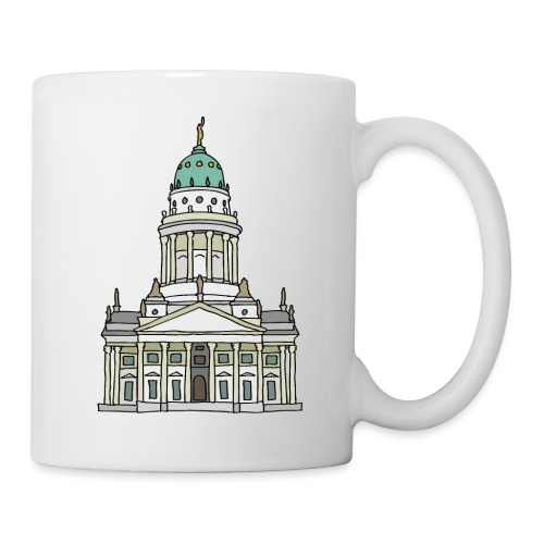 French Cathedral Berlin - Coffee/Tea Mug