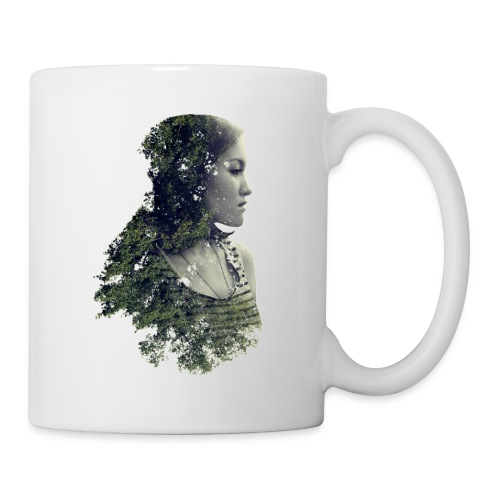 Woman Forest - Save the forest - Coffee/Tea Mug