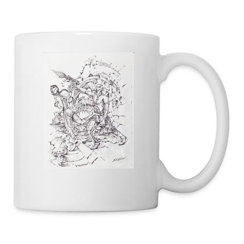 ART WORK Brother and Sister time shift - Coffee/Tea Mug