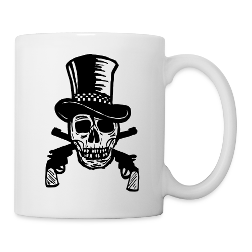 The Gunfighter Skull - Coffee/Tea Mug