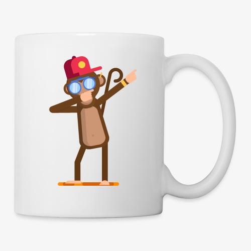 Animal doing dabbing movement - monkey - Coffee/Tea Mug